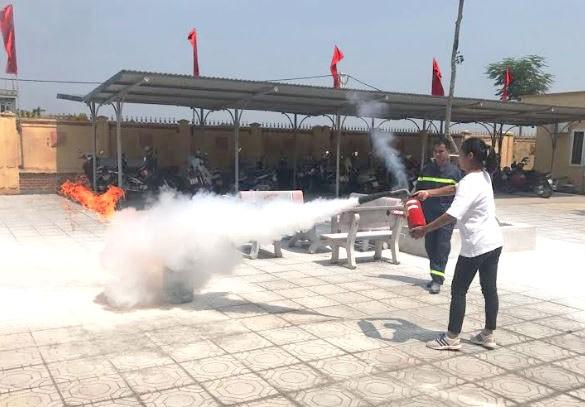 PCCC: Chủ động các biện pháp phòng ngừa cháy nổ mùa nắng nóng