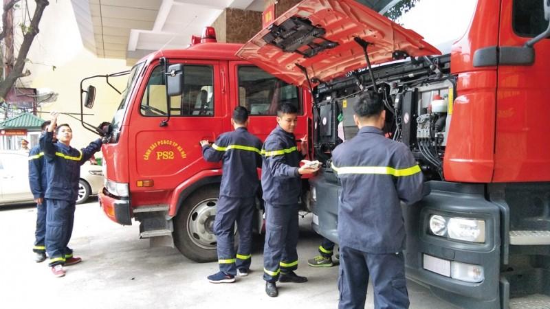 Tự hào là lính cứu hỏa, Phòng cháy chữa cháy