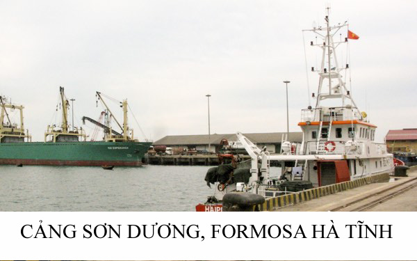 Cảng Sơn Dương Formosa Hà Tỉnh