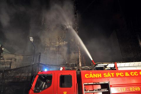 Tập huấn phòng cháy chữa cháy cho người dân