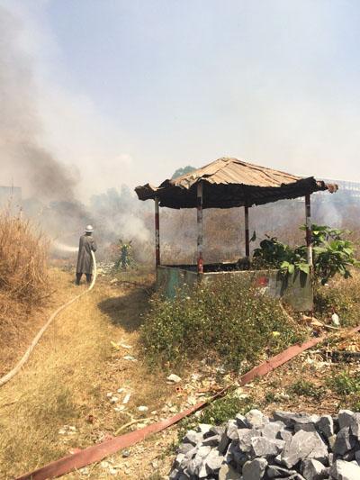 Đề phòng cháy cỏ rác trong mùa khô(22/10/2018 17:02)