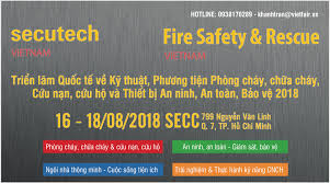 Triển lãm thiết bị an ninh, an toàn, bảo vệ, phòng PCCC, CNCH