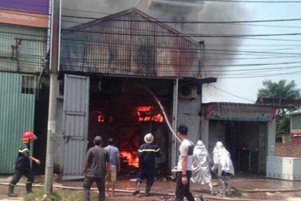 Phân hạng theo mức độ nguy hiểm cháy, nổ của công tác PCCC trong quá trình công nghệ sản xuất